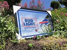 Bud Light Nfl Buffalo Bills Football Beer Bar Mirror Man Cave Pub