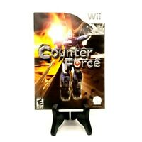 Counter Force Nintendo Wii Complete Excellent Tested Conspiracy Entertainment