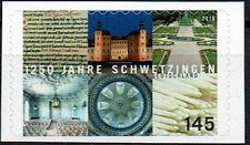 3221 ** BRD 2016, skl. aus FB, 1250 Jahre Schwetzingen