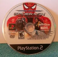 Spider-Man Web of Shadows Amazing Allies Edition PS2 Disc Only. See Description