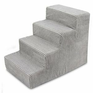 USA Made Pet Steps/Stairs with CertiPUR-US Certified Foam for Dogs & Cats by ...