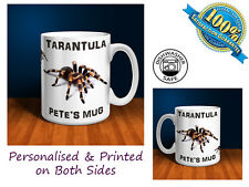 Tarantula Personalised Ceramic Mug: Perfect Gift. (P053)