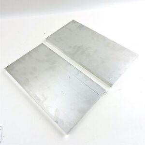 """0.625 5//8/"""" x 4/"""" Aluminum Flat Bar T6511 Mill Stock 4/"""" Length 6061 Plate"""