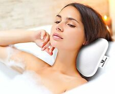 Luxury Spa BATH PILLOW by Home Prime Fits Any Bathtub / Hot Tub / Jacuzzi