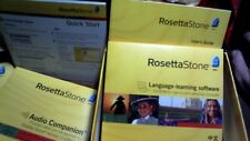 Rosetta Stone Mandarin Chinese Version 3 Personal Edition Level 1,2 & 3 Headset