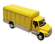 HO Scale BOLEY International 4300 Beverage Truck (Yellow)1/87  Diecast/Plastic