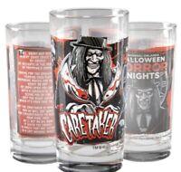 Universal Halloween Horror Nights 2020 Icon Caretaker Collectible Glass 30 Years