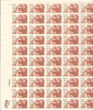 US Stamp - 1982 Aging Together - 50 Stamp Sheet - Scott #2011