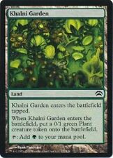 4x KHALNI GARDEN - Planechase/Worldwake/Duel - MTG - NM - Magic the Gathering