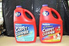 RUG DOCTOR Carpet Shampoo Cleaner NEW OXY-STEAM & PET 1 OF EACH 96 OZ ea