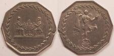 Jeton de Jeux de Cartes, 19° siècle (vers 1850), Rare !!