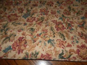 King RALPH LAUREN High Gate Woods Brown Floral Tapestry Look Heavy Comforter!