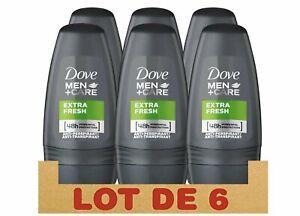 Dove Men+Care Extra Fresh Roll-On Deodorant (6 x 50 ml)