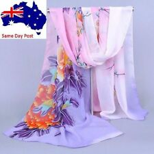 Unbranded Chiffon Floral Scarves & Wraps for Women