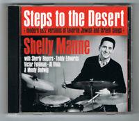 ♫ - SHELLY MANNE - STEPS TO DESERT - 1962 - CD 14 TITRES - TRÈS BON ÉTAT - ♫