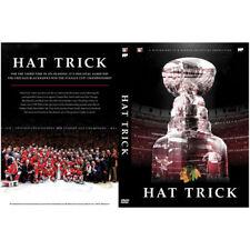Hat Trick NHL Chicago BlackHawks Hockey Stanley Cup Champions DVD NEW FREE SHIP