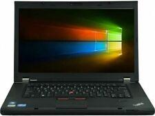 "New listing 15"" Thinkpad T530 Laptop Win 7 Or 10 + Microsoft Office Laptop Dvd Cam 8gb 500gb"