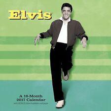 ELVIS PRESLEY - 2017 Wall Calendar by Mead