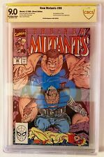 New Mutants #88 CBCS SS 9.0 Signed by Rob Liefeld 2nd Cable (Not CGC) 🔥