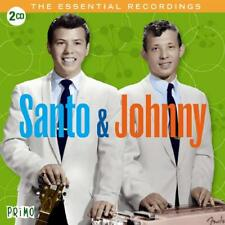Santo & Johnny The Essential Recordings Remastered 2 CD NEW
