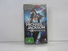 Michael Jackson the Experience SONY PSP New & Sealed, 100% Pal Game( AUS )