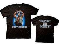 Stone Cold Steve Austin 3:16 WWE Official 100% Rattlesnake Mens Black Shirt