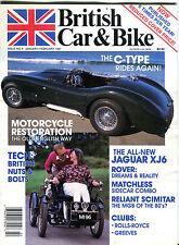 British Car & Bike Magazine Jan/Feb 1987 Jaguar XJ6 C-Type EX 020516jhe