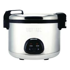Buffalo LARGE 9 Litre Cooked Commercial Rice Cooker Restaurant Take Away