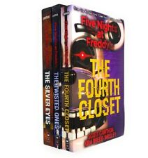 More details for five nights at freddy's 3 books collection set (the silver eyes, the fourth clos