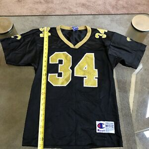 CHAMPION NFL NEW ORLEANS SAINTS RARE RICKY WILLIAMS #34 JERSEY YOUTH M 10-12
