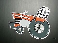 """MASSEY FERGUSON PULLER"" - Original Artwork DECAL/STICKER ""Tractor Swag"" LEFT"