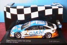 OPEL VECTRA GTS V8 #9 DTM 2005 TEAM OPC FASSLER MINICHAMPS 400054609 1/43 GMAC