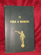 TE PUKA A MOMONI 1965 Maori BOOK OF MORMON   Cook Islands