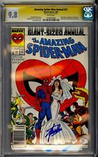 AMAZING SPIDER-MAN ANNUAL #21 CGC SS 9.8 STAN LEE SIGNED SPIDEY GETS MARRIED!