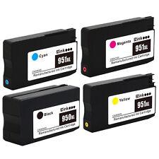 4PK HP 950XL 951XL Ink Cartridges for HP Officejet Pro 8615 8616 8620 8625 8630