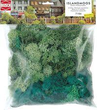 Grand Sac Vert Lichen - Oo / Ho Paysage Busch 7106