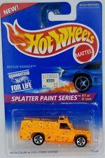 1995 Hot Wheels Rescue Ranger Splatter Paint Vintage Diecast Car Kids Toy 90s