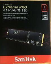 SanDisk Extreme PRO 1TB M.2 NVMe 3D SSD SDSSDXPM2-1T00-G25