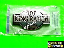 KING RANCH FORD EXPEDITION EMBLEM BADGE TAILGATE REAR DOOR 2005-2011 NEW IN BAG