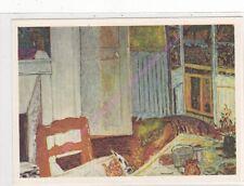 CP ART TABLEAU PIERRE BONNARD L'interieur blanc