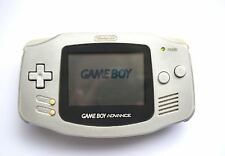 Nintendo Game Boy Advance GBA Handheld Original Console Platinum Silver Working