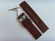Diesel Original Spare Band Leather Wrist DZ1467 Watch Braun 0 15/16in Strap