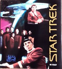 1997 Star Trek Coffe Table Book from Italy- 110+ Pages- Great Color Photos- NEW