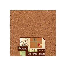 """Quartet 102 - Quartet Cork Tiles, 12"""" x 12"""", Cork Boards - 24 Count Case"""