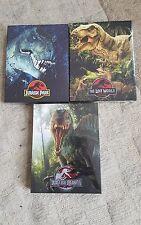 Jurassic Park trilogy (blu-ray) Steelbook - Filmarena NEW & SEALED