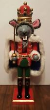 Mouse Nutcracker Ballet Royal King Crown Rat Wooden 15 Inch Christmas NEW