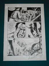 Giampiero Casertano Original Comic Art - Tavola # 18 Martin Mystere # 51 06/1986
