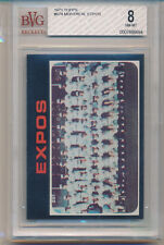 1971 Topps Montreal Expos Team Card (High Number Series) (#674) BVG8 BVG