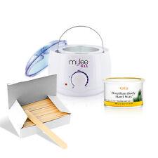 Depilatory Brazilian Wax Kit Mylee Heater Hard Wax Spatulas Waxing Hair Removal