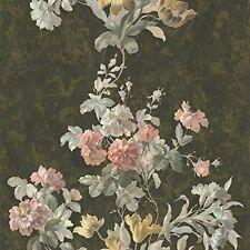 RC13017 - Roberto Cavalli Multicoloured Floral Textures Flowers Wallpaper